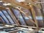 Obnova poškozených tesařských konstrukcí
